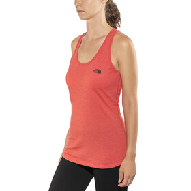 The North Face Play Hard Tank Women Juicy Red Heather